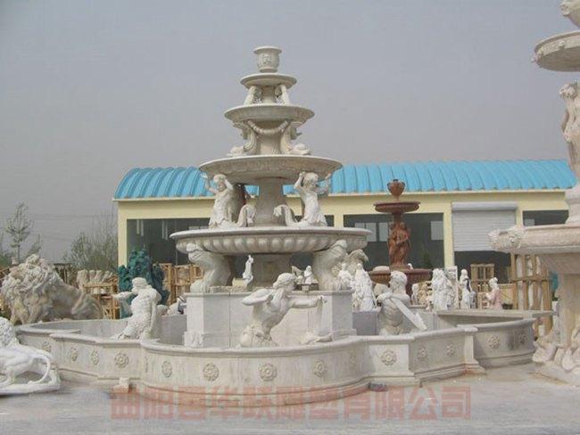 喷泉,风水 (9)_喷泉假山_曲阳县华跃雕塑有限公司